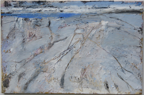 CHRISTINE THERY - Rock Art - oil on canvas - 80 x 120 cm - €2800
