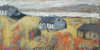 CHRISTINE THERY - The House Between - oil on canvas - 31 x 61 cm - guide price €700