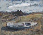 CHRISTINE THERY - The Sinking - oil on canvas - 46 x 56 cm - €850