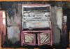 CHRISTINE THERY ~ Time & The Dresser - oil on canvas - 28 x 35 cm - €480