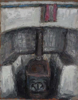 CHRISTINE THERY - Turf Stove - oil on canvas on board - 20 x 25 cm - €350