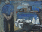 CHRISTINE THERY - Vintage Bantry - oil on canvas -  76 x 102 cm - €3100