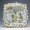 CORMAC BOYDELL - An Camchéachta / The Starry Plough - ceramic - 39x40cm - €450 - SOLD