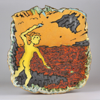CORMAC BOYDELL - Fionn at the Giant's Causeway - ceramic - 47 x 45 cm - €700