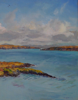 DAMARIS LYSAGHT ~ From Colla Pier - oil on canvas on board - 46 x 36 cm - €950