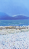 DAMARIS LYSAGHT _ Silver Lining - oil on panel on canvas -€535