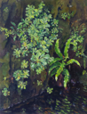 DAMARIS LYSAGHT - Sr.Patrick's Cabbage - Oil on canvas on panel - €985