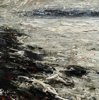 DONAGH CAREY ~ Wind and Tide - oil on board - 15 x 15 cm - €265