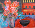 ETAIN HICKEY - The Potter's Kitchen - acrylic on board - 42 x 50 cm - €360