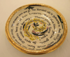 ETAIN HICKEY - The Year has Turned - ceramic poem plate - 29 cm - €220
