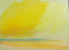 FIONA WALSH ~  Antevasin Yellow - oil on canvas - 30.5 x 40.5 cm - €450