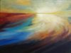 FIONA WALSH - At the End of the Day - oil on canvas - 30.5 x 40.5 cm - €400