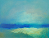 FIONA WALSH - Evening Light II - oil on canvas - 20.5 x 25.5 cm - N.F.S.
