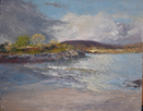 FIONA POWER - Ballyrisolde - oil on board - 20 x 26 cm - €480