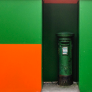 GEOFF GREENHAM - Post Box - photograph - 25 x 25 cm - 1/10 - €180