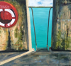HELEN O'KEEFFE ~ Colla Pier - oil on canvas - 49 x 51 cm - €800 - SOLD