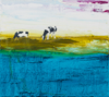 HELEN O'KEEFFE - Grazing, Long Island - oil on board - 23 x 28 cm - €480