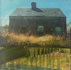 HELEN O'KEEFFE - Long Island - oil & photographic image on canvas - 25 x 25 cm - €395 - SOLD