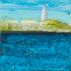 HELEN O'KEEFFE - The Beacon - oil on board - 15 x 15 cm - €300