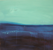 HELEN O'KEEFFE - The Deep Blue II - oil on board - part 1 of trypticth - €900 for all 3