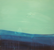 HELEN O'KEEFFE - The Deep Blue II - oil on board - part 3 of trypticth - €900 for all 3