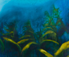 HELEN O'KEEFFE - The Deep Blue - oil on canvas - 76 x 92 cm - €1000