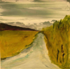HELEN O'KEEFFE - The Road Home 2 - oil on board - €290