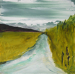 HELEN O'KEEFFE - The Road Home - oil on board - €350
