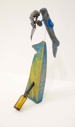 IAN McNINCH - Norwegian Blue- objects trouve - 37 x 16 x 16 cm - €180