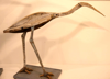 JAMES MAC CARTHY ~ Crouching Heron - salvaged timber - 60 x 23 x 38 cm - €750