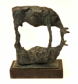 JAMES MAC CARTHY ~ Reflection - unique bronze - 20 x 28 x 8 cm - €2000