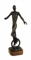 JAMES MAC CARTHY ~ Unicyclist - bronze series 2/9 - 40 x 13 x 13 cm - €2200