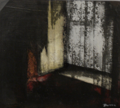 JANET MURRAN - Hidden Treasure V - acrylic/charcoal and photograph - 33 x 37 cm - €355