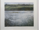 JANET MURRAN - Between the River and the Sea 2 -  charcoal and acrylic on paper - 34 x 39 cm -  €425