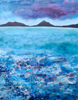 JIM TURNER - The Sea is Relentless - acrylic on board - €360