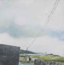 NADETTE CHARLET - Floating Anchors 10  - oil on paper - €230