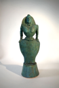 PAT CONNOR  - Standing Lady 1 - ceramic 41 x 15 x 13 cm - €1750