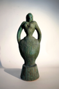 PAT CONNOR  - Standing Lady 4 - ceramic 41 x 15 x 13 cm - €1750