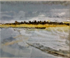 PETER WOLSTENHOLME ~ Sand Storm at Dunworley - limited edition print - €250