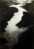 MARTA SWIERAD ~ River - charcoal on paper - 42 x 30 cm - €230