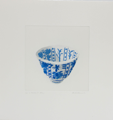 RUTH O'DONNELL ~ Resilient Blue - etching - 47 x 45 cm - €250