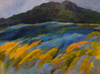 TERRY SEARLE ~ Rising Ground -  acrylic on canvas - 46 x 61 cm - €650