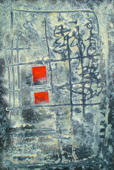 THURLOE CONOLLY 1918-2016 - Two RedPanes - acrylic and mixed media on board - 92 x 133 cm - €6500