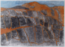 TOM WELD - Rock Face - oil and charcoal on paper - 54 x 70 cm - €300
