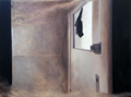 VAUNEY STRAHAN - Latch - oil on panel - 31 x 41 cm - €550