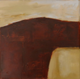 WENDY DISON ~ Hades Map III - oil on canvas - 40 x 40 cm  - €500